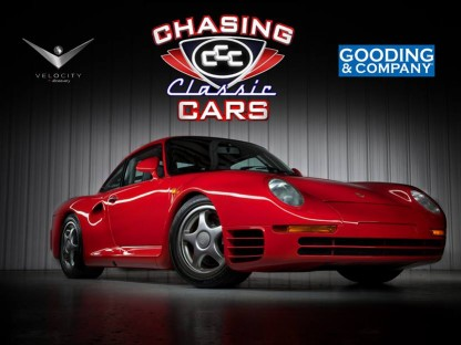 Watch Chasing Classic Cars This Monday At 9PM EST To Follow Gooding's Porsche 959S Sale From The Amelia Island Auction