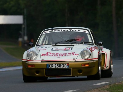 Video: Ride Onboard With Leh Keen In A 1974 911 RSR At Le Mans Classic