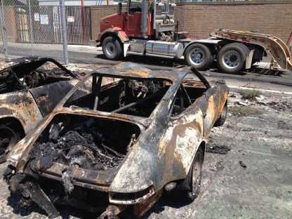 Sacramento Shop Burns, Destroying World's Most Original 911 RSR