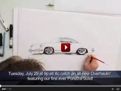 "The Velocity Channel's ""Overhaulin'"" Will Feature Their First Porsche Build Ever Tomorrow Night"