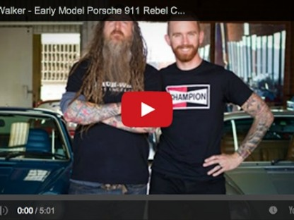 Take A Tour Of Magnus Walker's Garage