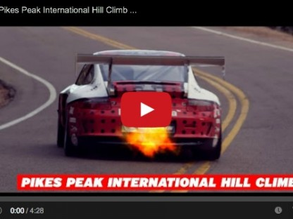 video of jeff zwart's terrifying climb to the top of pikes peak 2014