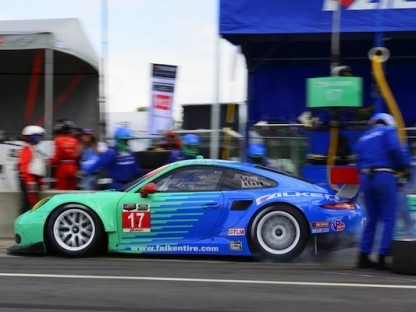 Porsche's Pictures And Results In The USCC At The Oak Tree Grand Prix