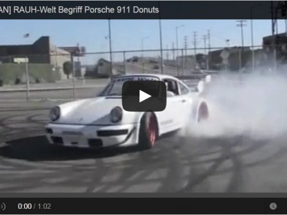 "Hoonigan Rauh-Welt Porsche 964 Video Short: ""Time To Make The Donuts"""