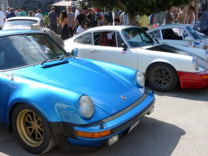 Visiting Patrick Long's Luftgekühlt With Magnus Walker, Patrick Dempsey And Chad McQueen