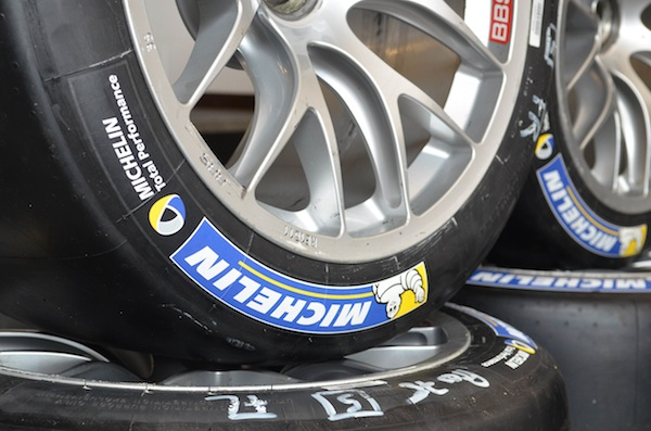 Michelin racing tire porsche