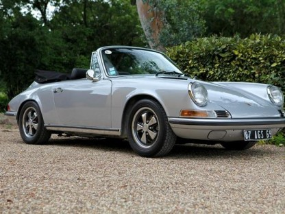 Bonhams Bringing 911 Cabriolet Prototype To Belgium Sale