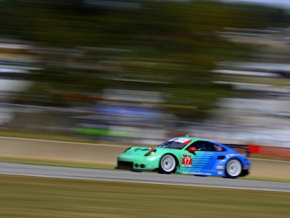 Porsche's Results And Pictures At Petit Le Mans
