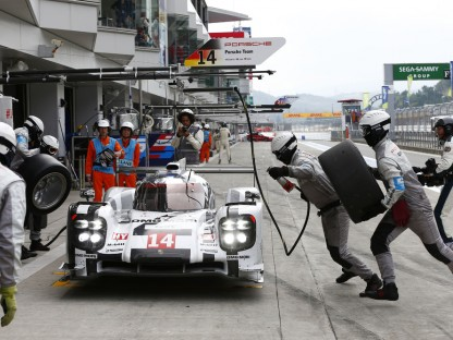 Porsche's WEC Pictures And Results From Fuji, Japan
