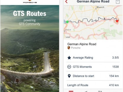 We Review The Porsche GTS Routes App For You
