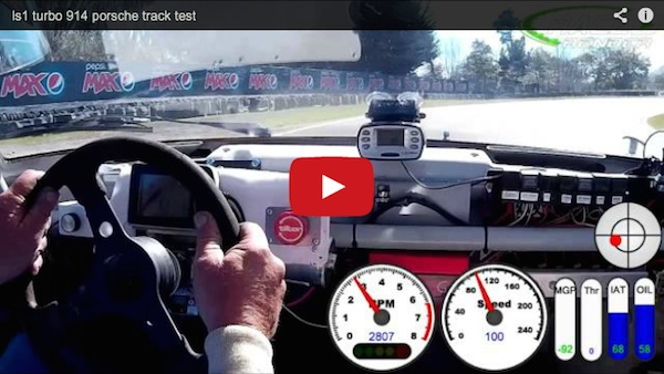 This Is What A Turbocharged V8 Porsche 914 Looks And