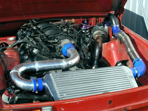porsche ls1 intercooler 914