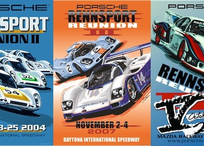 Here Are All 5 Official Rennsport Reunion Posters