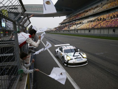 Porsche's Shanghai Six Hour Success