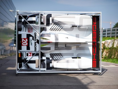 The Logistics Nightmare Of Shipping Porsche's 919 Hybrid LMP1 All Over The World