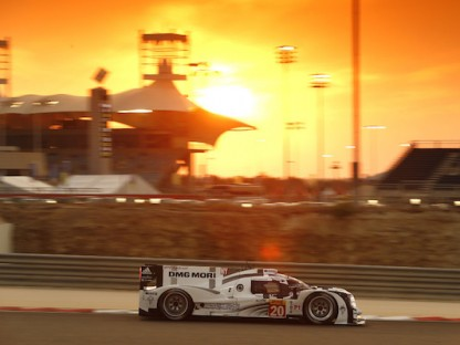 Porsche's LMP1 Team Results, Pictures And Video In The WEC At Bahrain