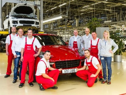 The 600,000th Porsche Cayenne Just Rolled Off The Assembly Line