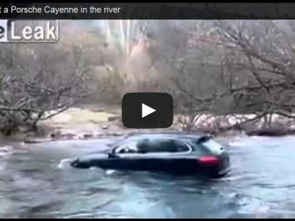 Poor Driving Skills On Deep River Crossing Drowns This Cayenne