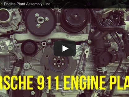 Watch This Beautifully Simple Porsche 911 Engine Assembly Line Video