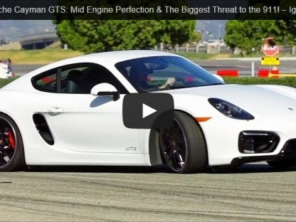 Video: Motor Trend's Jonny Lieberman Drives The Cayman GTS