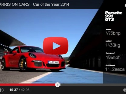 Chris Harris Car Of The Year Porsche GT3