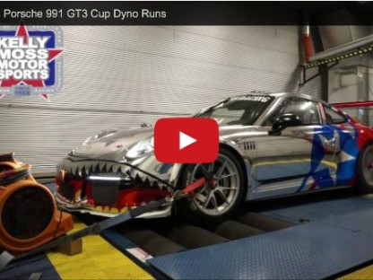 Turn Up Your Speakers And Listen To This 991 GT3 Cup On A Flat-Out Dyno Run