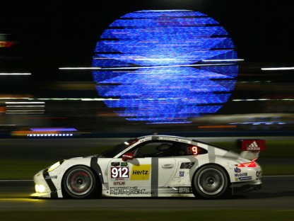Porsche's Pictures and Results From The Rolex 24 Hours At Daytona