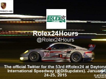 2015 Rolex 24 Hour Twitter Guide for Porsche Fans
