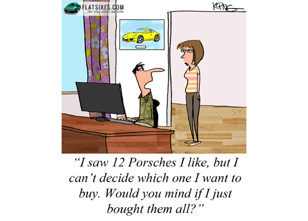 Porsche comic strip #6