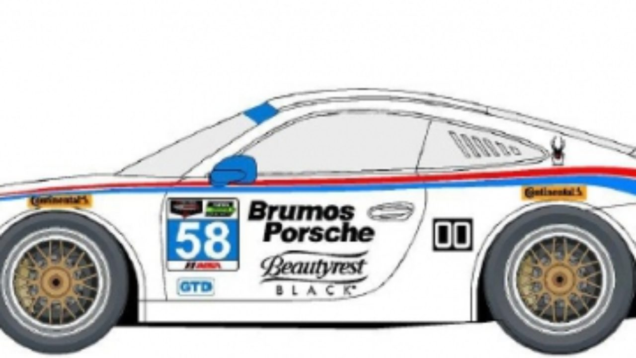 The Iconic Brumos Livery Is Back For The Daytona 24 And 12