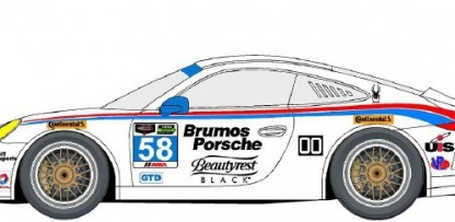 The Iconic Brumos Livery Is Back For The Daytona 24 And 12 Hours Of Sebring!