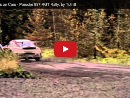 Chris Harris Driving Tuthill Porsche Rally 911