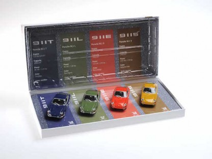 Check Out This 1:43 Scale Set Of Early 911s