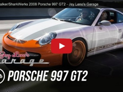 the porsche GT2 created by Magnus Walker and Alex Ross of SharkWerks
