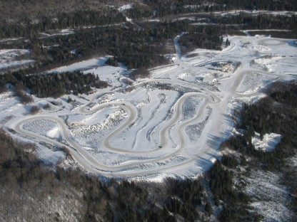 This Is How The Frozen Tracks At Porsche's Camp4 Canada Are Created