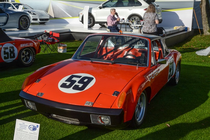 Hurley Haywood and Peter Gregg dominated the first ever IMSA GT championship with this 914/6 GT in 1971.  After its restoration in 1988, Haywood drove it to its first vintage race win at Palm Beach.