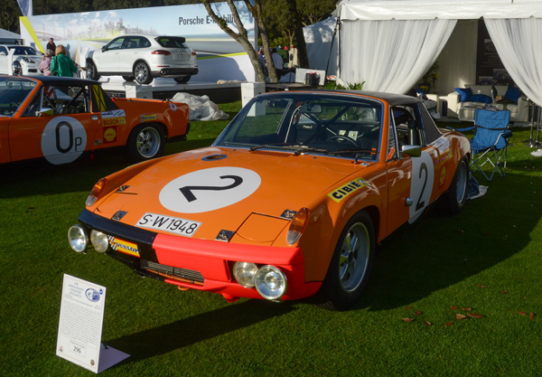 This Porsche 914 was part of a one-two-three finish at the 86-hour Marathon de la Route on the Nürburgring in 1970.
