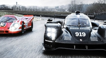 Porsche 917 Salzburg on track with Porsche 919 Hybrid