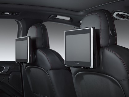 Porsche Introduces Rear Seat Entertainment Option For Cayenne, Macan and Panamera