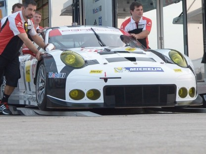 Porsche GTLM Team Nabs 1-2 In Qualifying For 12 Hours of Sebring
