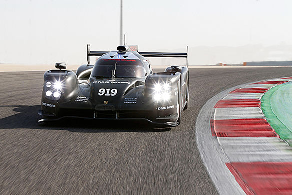 Porsche 919 testing aero package in spain