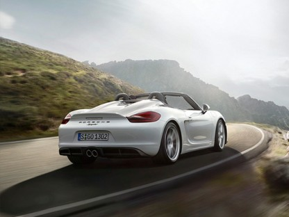 Porsche Just Dropped The Top On The 2016 Boxster Spyder