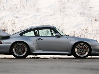 Porsche 993 GT2 for sale in 2015 at Amelia Island Gooding Auction