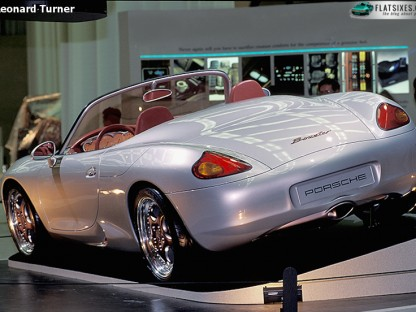 1993 Porsche Boxster Prototype seen from rear