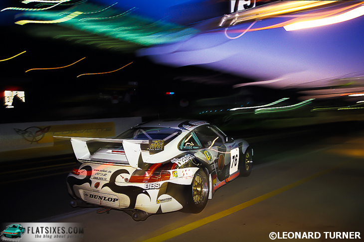 Leonard Turner Porsche Photography Long shot in the dark