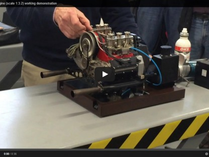 1/3rd Scale Operational 911 Engine Is Everything That Is Awesome In The World