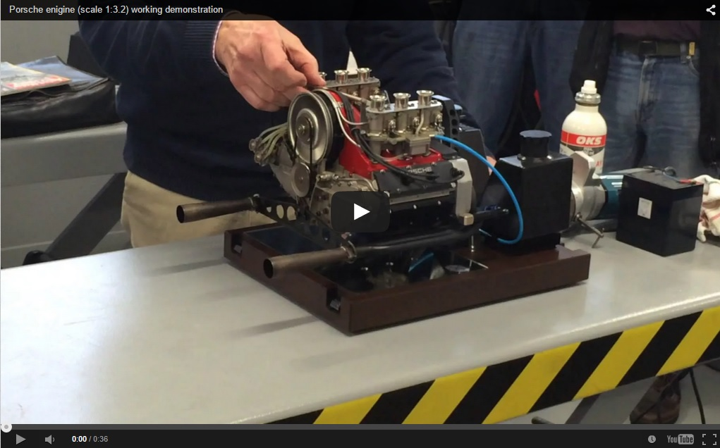 1/3rd Scale Operational 911 Engine Is Everything That Is Awesome In