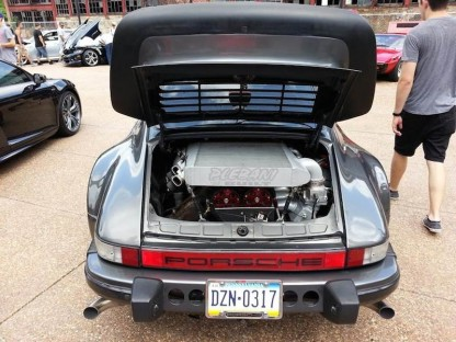 How To Shoehorn 650 hp Into Porsche 911 SC