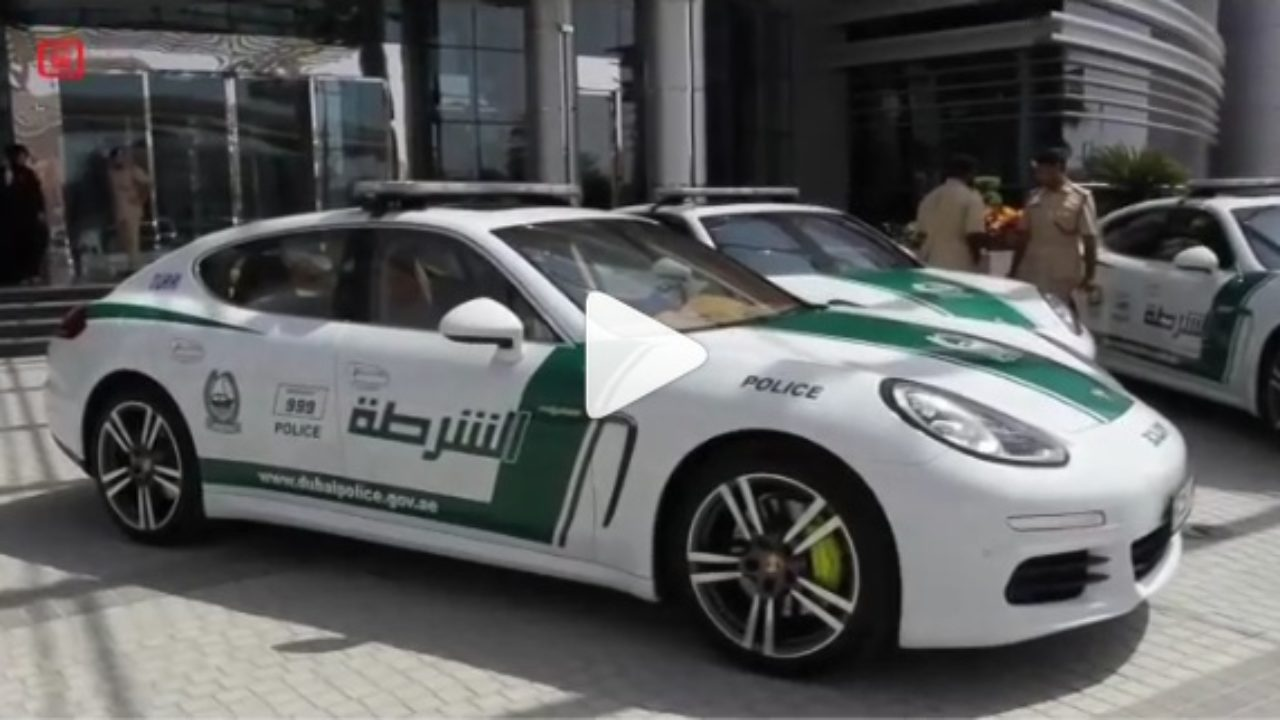 Look Who Just Joined Dubai S Famous Exotic And Luxury Police Car