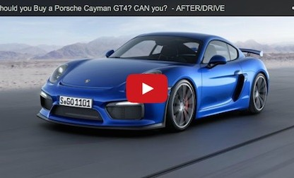 Should You Buy A Porsche Cayman GT4? If So Can You Even Get One?